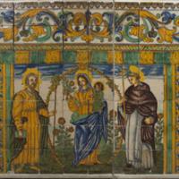 ref: PM_096760_E_Cervera; Frontal d'altar ceràmic