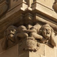 ref: PM_096964_E_Manresa; L'església, façana meridional