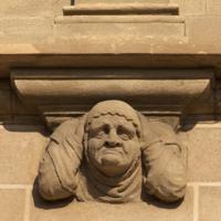 ref: PM_096962_E_Manresa; L'església, façana meridional