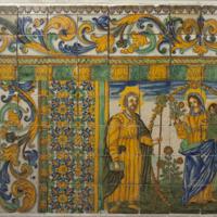 ref: PM_096762_E_Cervera; Frontal d'altar ceràmic