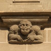 ref: PM_096961_E_Manresa; L'església, façana meridional