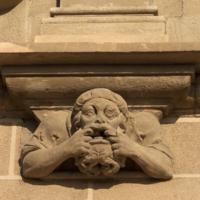ref: PM_096963_E_Manresa; L'església, façana meridional